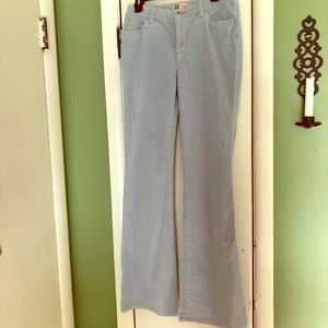 Baby Blue Bell Bottom Corduroy Pants